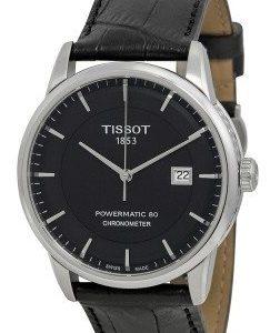 Tissot Luxury T086.408.16.051.00 Kello Musta / Nahka