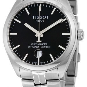 Tissot Pr 100 Gent Cosc T101.451.11.051.00 Kello Musta / Teräs