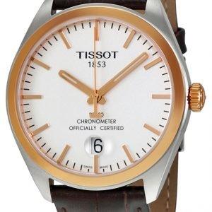 Tissot Pr 100 Gent Cosc T101.451.26.031.00 Kello Hopea / Nahka