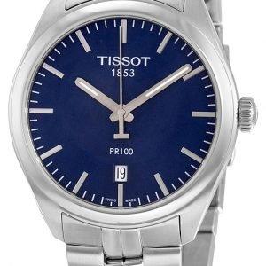 Tissot Pr 100 Gent T101.410.11.041.00 Kello Sininen / Teräs