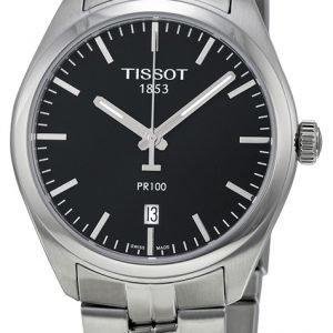 Tissot Pr 100 Gent T101.410.11.051.00 Kello Musta / Teräs