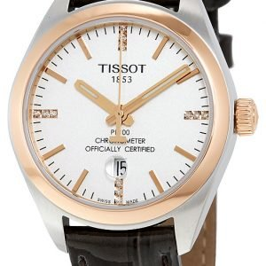 Tissot Pr 100 Lady Cosc T101.251.26.036.00 Kello Hopea / Nahka