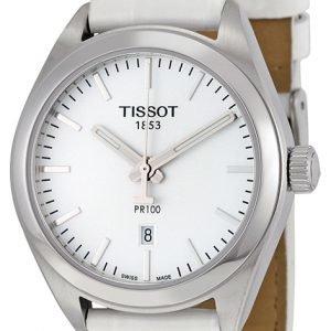 Tissot Pr 100 Lady T101.210.16.031.00 Kello Hopea / Nahka