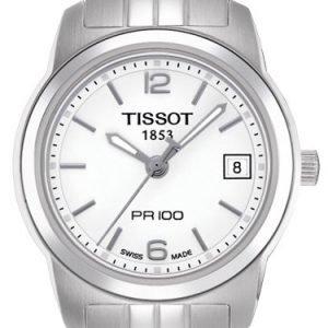 Tissot Pr 100 T049.210.11.017.00 Kello Valkoinen / Teräs