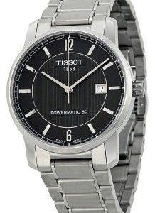 Tissot Pr100 T087.407.44.057.00 Kello Musta / Titaani