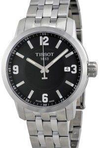 Tissot Prc 200 T055.410.11.057.00 Kello Musta / Teräs