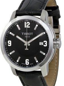 Tissot Prc 200 T055.410.16.057.00 Kello Musta / Nahka