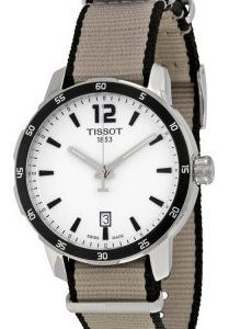 Tissot Prs 200 T095.410.17.037.00 Kello Hopea / Tekstiili
