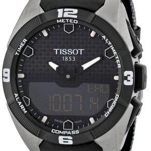Tissot Prs 516 T091.420.46.051.01 Kello Musta / Tekstiili