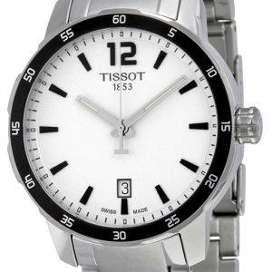 Tissot Quickster Gent T095.410.11.037.00 Kello Hopea / Teräs