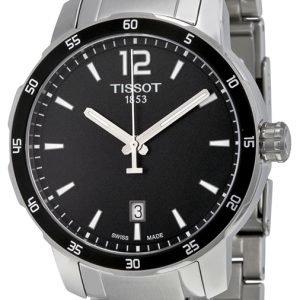 Tissot Quickster Gent T095.410.11.057.00 Kello Musta / Teräs