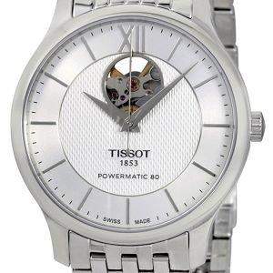 Tissot T-Classic T063.907.11.038.00 Kello Hopea / Teräs
