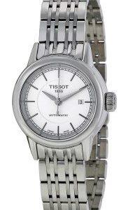 Tissot T-Classic T085.207.11.011.00 Kello Valkoinen / Teräs