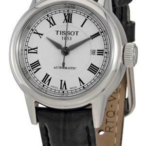 Tissot T-Classic T085.207.16.013.00 Kello Valkoinen / Nahka