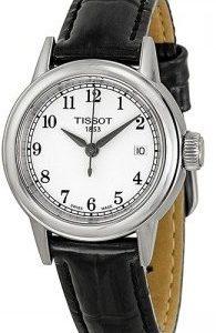 Tissot T-Classic T085.210.16.012.00 Kello Valkoinen / Nahka