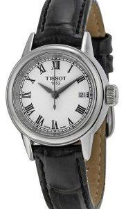 Tissot T-Classic T085.210.16.013.00 Kello Valkoinen / Nahka
