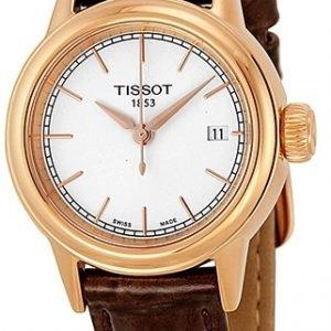 Tissot T-Classic T085.210.36.011.00 Kello Valkoinen / Nahka