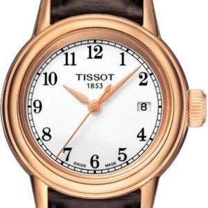 Tissot T-Classic T085.210.36.012.00 Kello Valkoinen / Nahka