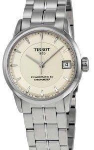 Tissot T-Classic T086.208.11.261.00 Kello Hopea / Teräs