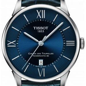 Tissot T-Classic T099.407.16.048.00 Kello Sininen / Nahka