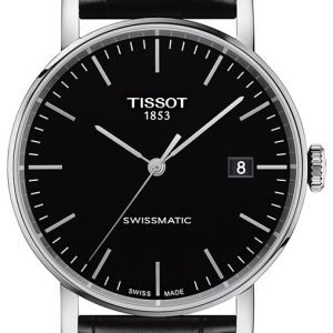 Tissot T-Classic T109.407.16.051.00 Kello Musta / Nahka
