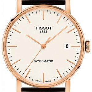 Tissot T-Classic T109.407.36.031.00 Kello Valkoinen / Nahka