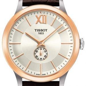 Tissot T-Gold Classic T912.428.46.038.00 Kello Hopea / Nahka
