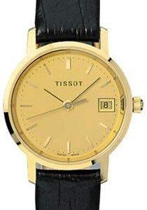 Tissot T-Gold T71.3.114.21 Kello Samppanja / Nahka