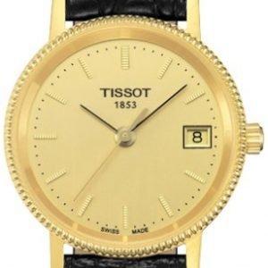 Tissot T-Gold T71.3.115.21 Kello Samppanja / Nahka