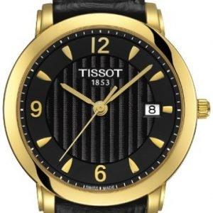 Tissot T-Gold T71.3.134.54 Kello Musta / Nahka