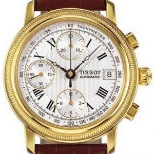 Tissot T-Gold T71.3.435.33 Kello Hopea / Nahka