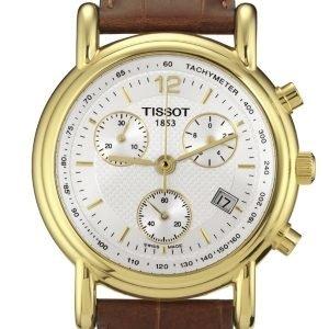 Tissot T-Gold T71.3.442.11 Kello Valkoinen / Nahka