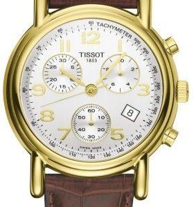 Tissot T-Gold T71.3.442.32 Kello Hopea / Nahka