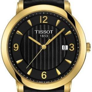Tissot T-Gold T71.3.450.54 Kello Musta / Nahka