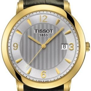 Tissot T-Gold T71.3.450.64 Kello Hopea / Nahka
