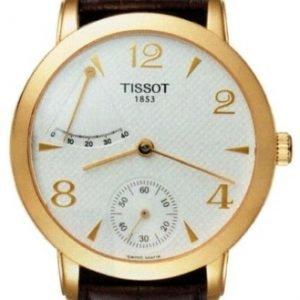 Tissot T-Gold T71.3.459.34 Kello Hopea / Nahka