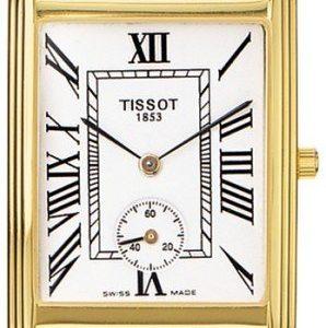 Tissot T-Gold T71.3.610.13 Kello Valkoinen / Nahka