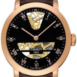 Tissot T-Gold T71.8.471.53 Kello Musta / Nahka