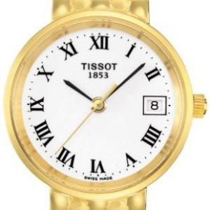 Tissot T-Gold T73.3.108.13 Kello Valkoinen / 18k Keltakultaa