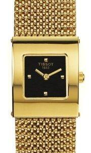 Tissot T-Gold T73.3.321.51 Kello Musta / 18k Keltakultaa