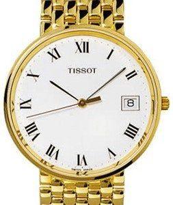 Tissot T-Gold T73.3.403.13 Kello Valkoinen / 18k Keltakultaa