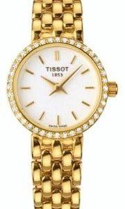 Tissot T-Gold T74.3.112.11 Kello Valkoinen / 18k Keltakultaa