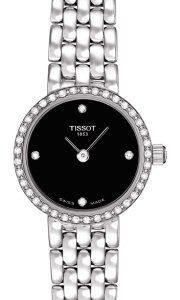 Tissot T-Gold T74.5.112.56 Kello Musta / 18k Valkokultaa