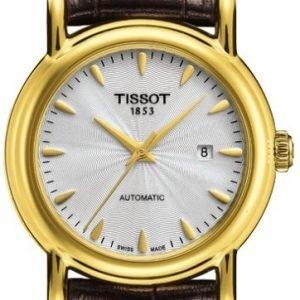 Tissot T-Gold T907.007.16.031.00 Kello Hopea / Nahka