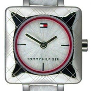 Tommy Hilfiger 1700386 Kello Valkoinen / Nahka