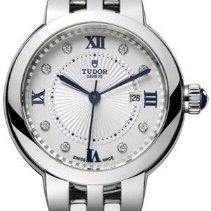 Tudor Clair De Rose 35500-0005 Kello Valkoinen / Tekstiili