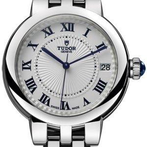 Tudor Clair De Rose 35800-0002 Kello Valkoinen / Tekstiili