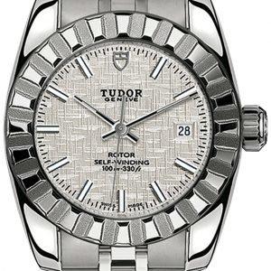 Tudor Classic Date 22010-0011 Kello Hopea / Teräs