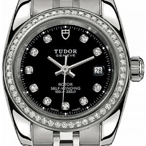 Tudor Classic Date 22020-0007 Kello Musta / Teräs