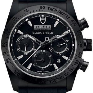 Tudor Fastrider Black Shield 42000cn-0018 Kello Musta / Kumi